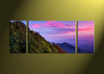 Home Decor,3 piece canvas wall art,landscape multi panel canvas, wall art, scenery wall artwork