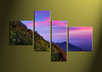 Home Decor,4 piece canvas wall art,landscape multi panel canvas, wall art, scenery wall artwork