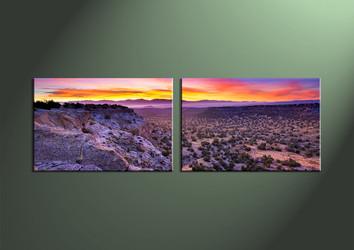 Home Decor,2 piece wall art, Landscape multi panel art, desert canvas print, scenery huge pictures