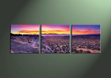 Home Decor,3 piece wall art, Landscape multi panel art, desert canvas print, scenery huge pictures