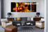 3 piece wall art, kitchen multi panel art, wine large pictures, fruits huge canvas art,living room wall art
