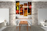 dining room Art,4 piece canvas art prints, kitchen canvas print, home decor, canvas art, wine canvas print
