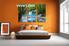Bedroom Wall Decor, 3 Piece Wall Art, ocean multi panel art, scenery photo canvas, waterfall artwork