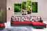 Living room Wall Decor, 4 Piece Wall Art, scenery multi panel art, scenery photo canvas, waterfall artwork
