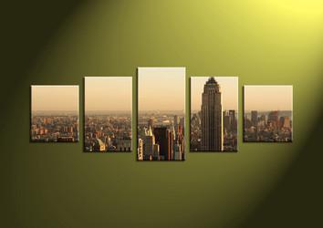 home decor,5 piece canvas art prints,canvas print, city canvas print,  scenery large canvas