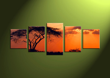 wall art, sunrise canvas art, sunset canvas print, scenery art, scenery artwork