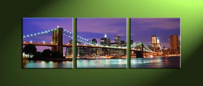 Home Décor,3 piece canvas art prints,canvas print,city scape huge canvas art,city decor