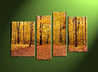 home decor,4 piece canvas photography, nature canvas print, forest canvas print,  scenery large canvas