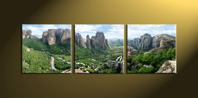 Home decor, scenery canvas wall art, forest huge pictures, landscape large pictures, 3 piece artwork