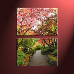 home décor, 5 piece canvas art prints, nature canvas print, forest canvas print,  scenery large canvas