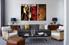 Living room Art, 3 piece canvas art prints,rose canvas print, floral group canvas, flower art