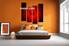 Bedroom décor, glass huge pictures, wine huge canvas art, red art, 4 piece huge canvas art