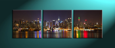 Home Décor,3 piece canvas art prints,canvas print, city art, city scape photo canvas, city artwork