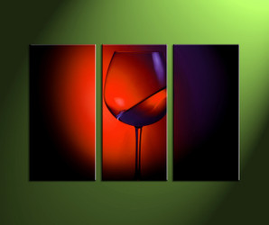 home wall decor,3 piece wall art, wine group canvas, wine canvas print, home wall art