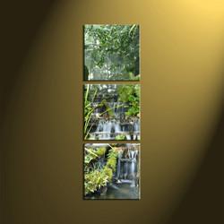 home decor, 3 Piece Wall Art, forest multi panel art, scenery canvas art, nature multi panel art