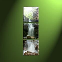 Home Decor, 3 piece canvas art prints, scenery canvas print, forest wall art, nature canvas art prints