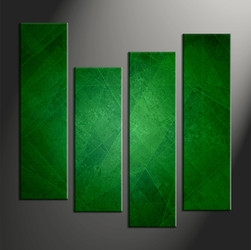 Home Decor, 4 piece canvas wall art, abstract multi panel canvas, abstract canvas wall art, abstract green pictures