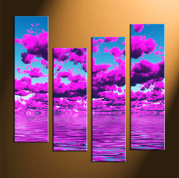 Home Decor, 4 piece canvas art prints, abstract canvas print, huge canvas art, abstract canvas art prints