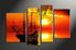 Home Decor, 4 Piece Wall Art, ocean multi panel art, scenery canvas wall art, landscape canvas photography