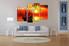 Living Room Wall Art, 4 Piece Wall Art, ocean canvas photography, scenery art, landscape Wall art