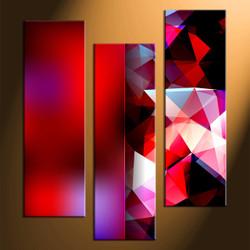 Home Decor, 3 piece canvas art prints, abstract canvas print, abstract wall art, abstract huge canvas art