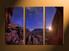 home decor, 3 piece canvas wall art, mountain multi panel canvas, scenery canvas art, stars group canvas