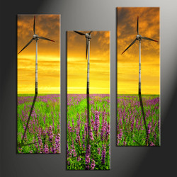 Home Decor, 3 piece canvas wall art, farm multi panel canvas, farm wall decor, farm wall art