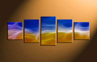 home decor, 5 piece canvas art prints, abstract huge canvas art, abstract artwork, abstract wall decor