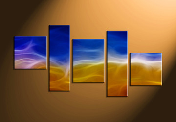 abstract huge canvas art, home decor,5 piece canvas art prints, abstract artwork, abstract wall decor