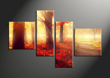 scenery large canvas , home decor,4 piece canvas art prints, nature canvas print, landscape canvas print