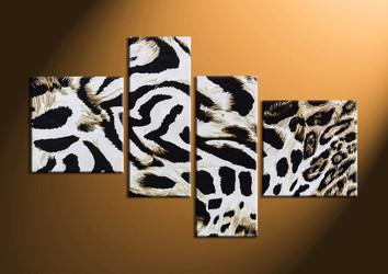 home decor,4 piece canvas art prints, animal canvas print, wild canvas print,  wildlife large canvas