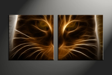 Home Wall Decor, 2 piece canvas art prints, abstract wall art, abstract wall decor, abstract canvas print