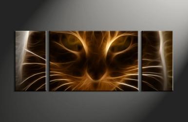 Home Wall Decor, 3 piece canvas art prints, abstract wall art, abstract decor, abstract multi panel canvas