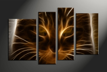 Home Wall Decor, 4 piece canvas art prints, abstract wall art, abstract abstract photo canvas, abstract art