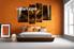 Bedroom Wall Decor, 4 Piece Wall Art, abstract multi panel art, abstract artwork, abstract pictures