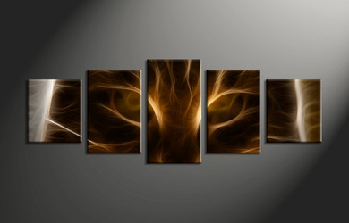 Home Decor, 5 piece canvas art prints, abstract wall art, abstract art, abstract canvas photography