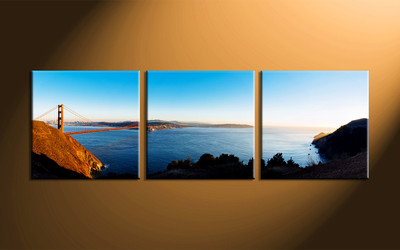Home Decor, 3 piece wall art, landscape canvas photography, scenery artwork, scenery wall art