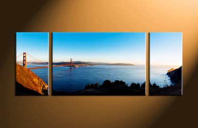 Home Decor, 3 piece wall art, landscape canvas photography, scenery artwork, scenery art