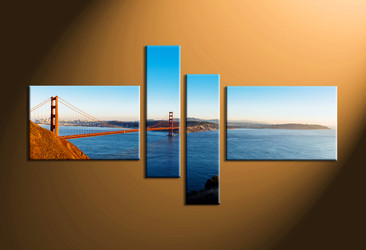 Home Decor, 4 piece canvas art prints, landscape canvas print, landscape artwork, scenery canvas art prints