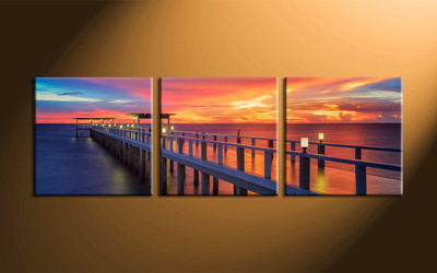 home decor, 3 piece canvas wall art, ocean wall art, scenery canvas art, ocean large canvas , ocean wall decor pictures
