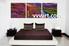 bedroom wall decor, 3 piece pictures, mountain group canvas, scenery huge pictures, shrubs pictures