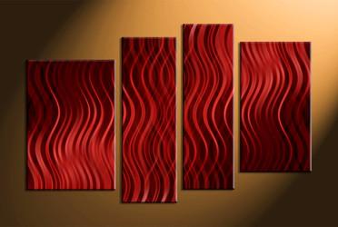 Home Wall Décor, 4 piece canvas art prints, abstract canvas print, abstract wall art, abstract photo canvas