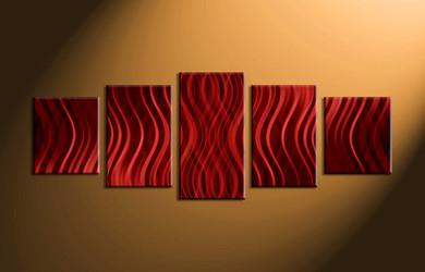 Home Wall Décor, 5 piece canvas art prints, abstract canvas print, abstract wall art, abstract canvas photography