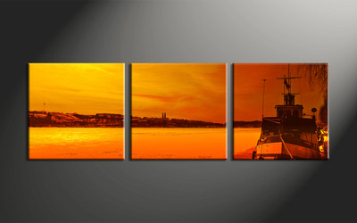 home decor,3 piece canvas wall art, ocean wall art, wall decor, canvas print, ocean group canvas artwork