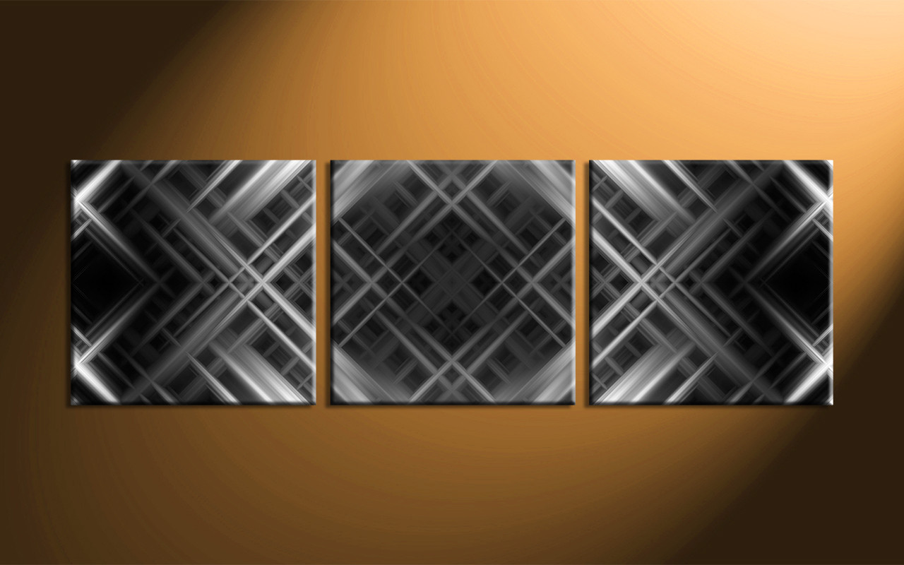 Panoramic Abstract Wall Art