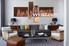 living room Wall Art, 4 Piece decor, sepia multi panel art, scenery wall art, landscape canvas art prints
