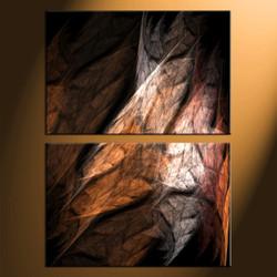 Home Décor, 2 piece canvas art prints, abstract canvas print, abstract decor, abstract large canvas