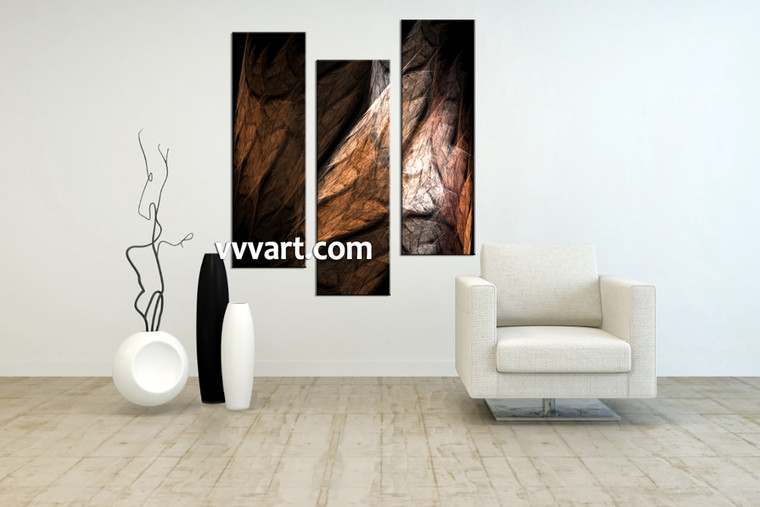 Living Room Artwork, 3 piece canvas wall art, abstract canvas art prints, abstract decor, abstract photo canvas