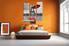 bedroom decor, 3 piece wall art, eiffel tower art, raining art, black and white  decor