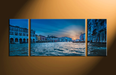 Home Décor, 3 piece canvas art prints, scenery canvas print, city artwork, city large canvas
